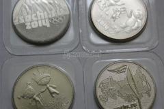 олимпийские монетки