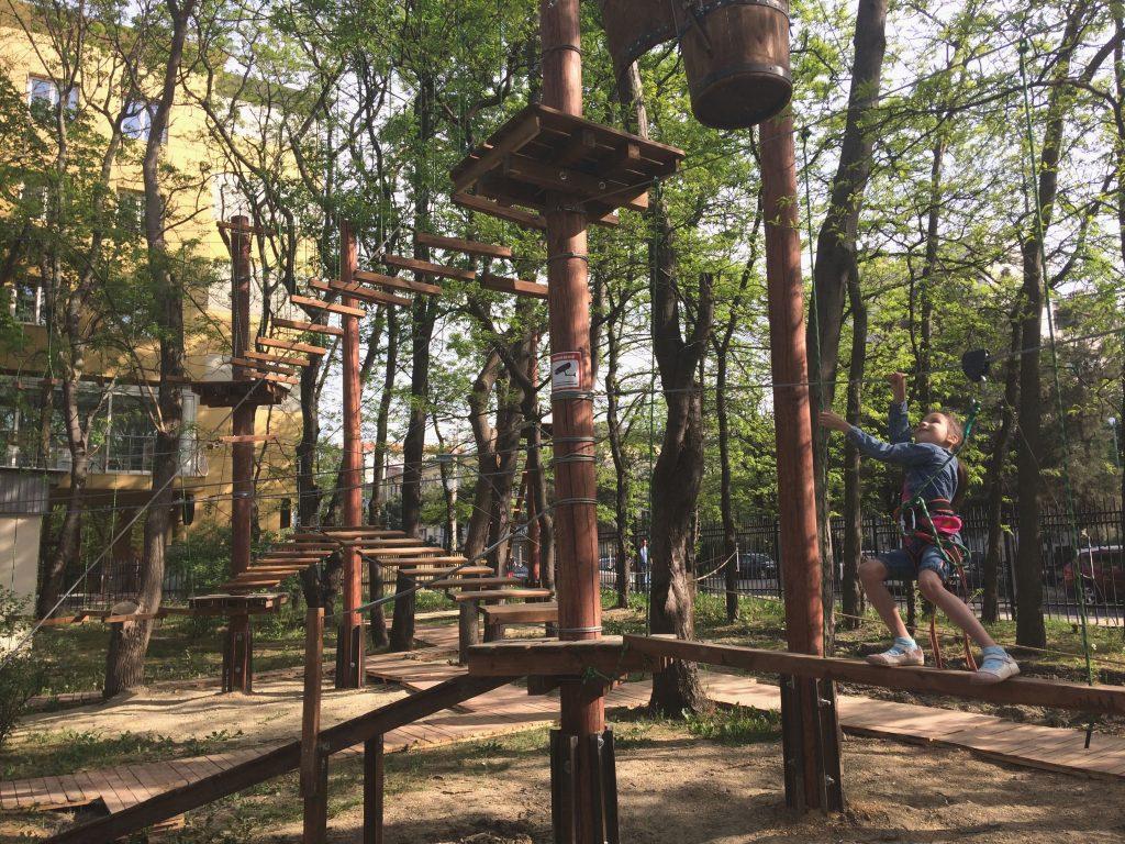 веревочный парк 1