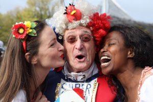 clown Мюнхенский марафон